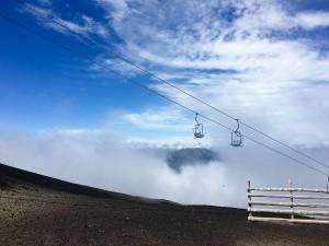 Volcano slopes